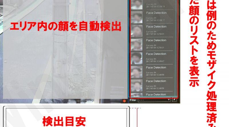 顔認識 防犯カメラ